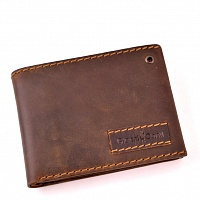 Портмоне кож Gianni Conti 1227100 dark brown