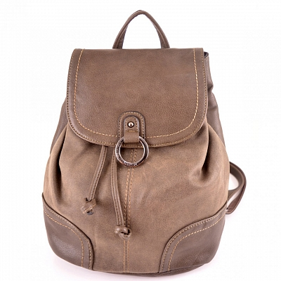 Рюкзак жен к/з David Jones CM3967-3 d.taupe